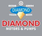 DIAMOND MOTORS & PUMPS Logo