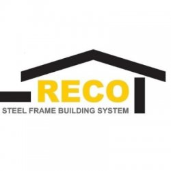 RECO STEEL DOOR WINDOWS SYSTEMS & FURNITURE Logo