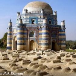 Mausoleum of Bibi Pak Daman 1