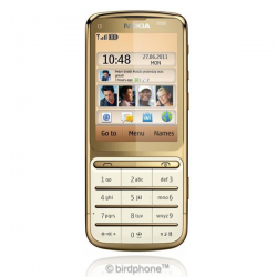 Nokia C3-01 Touch and Type gold price