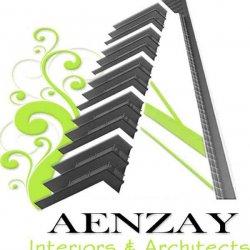 AenZay Interiors & Architects Logo