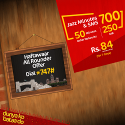 Jazz Haftawar all rounder offer 001