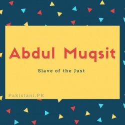 Abdul Muqsit