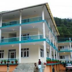 Kunhar View Hotel Building View