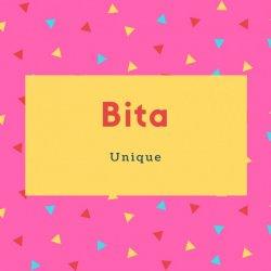 Bita Name Meaning Unique