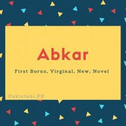 Abkar