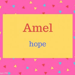 Amel Name Meaning hope