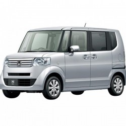 Honda N Box 2Tone Color Style - G Turbo L Package (Automatic)