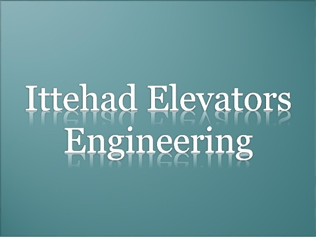 Ittehad elevators engineering