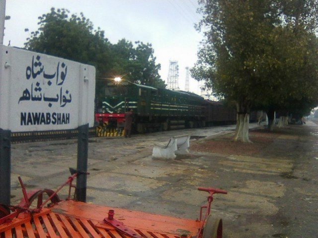 Nawabshah Railway Station