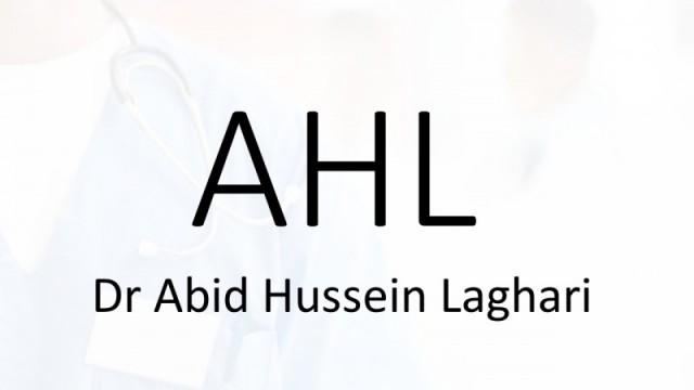 Dr. Abid Hussein Laghari