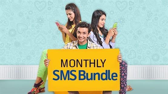 Talkshawk Monthly SMS Bundle