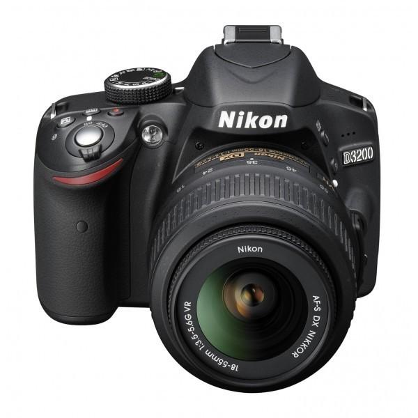 Nikon D3200 With 18-55-mm camera