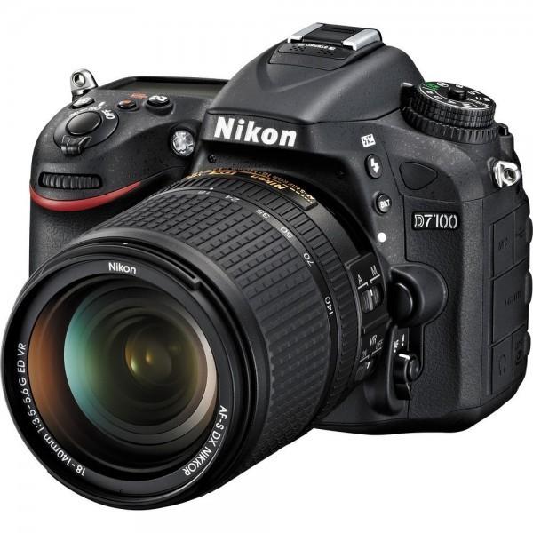 Nikon D7100 with 18-140-mm camera
