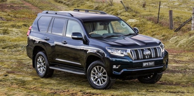 Toyota Prado Land Cruiser Facelift 2018