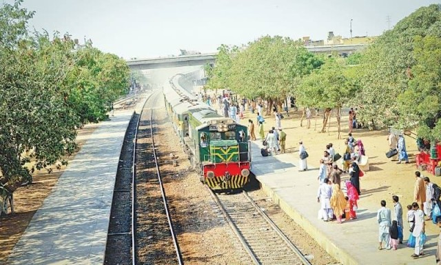 Liaquatabad Railway Station