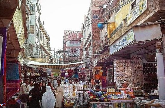 Resham Gali Bazaar