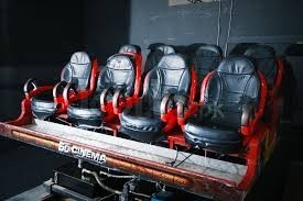 6D Cinema Motion Ride