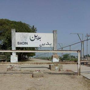 Badin railway station