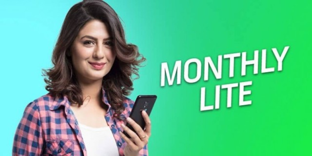 Telenor 4G Monthly Lite Package
