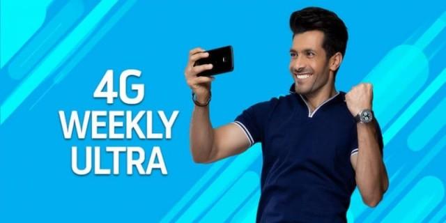 Telenor 4G Weekly Ultra