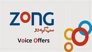 Zong Daily Voice Offer