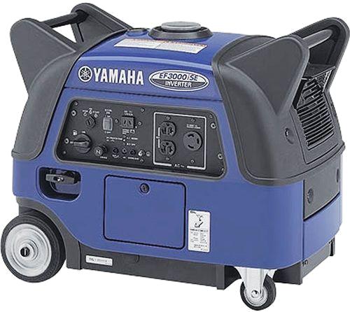 Yamaha Portable EF3000ISE Generator 3.0KVA Petrol