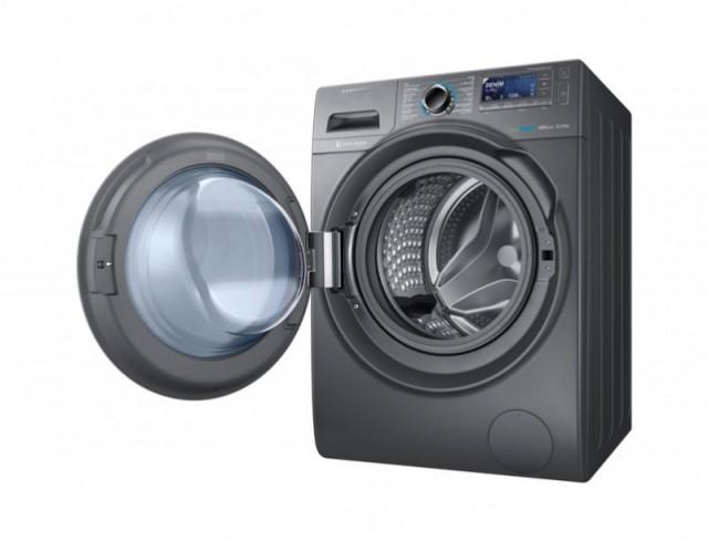 Samsung WW8000H New with Big Crystal Blue Door Washing Machine