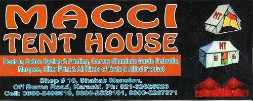 Macci Tent House