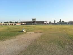 Larkana Cricket Stadium