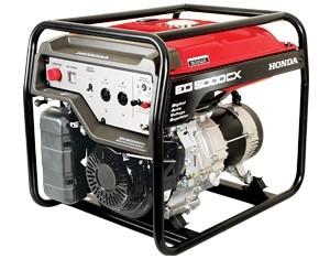 Honda EG5000CX Generator 4.0KVA Petrol
