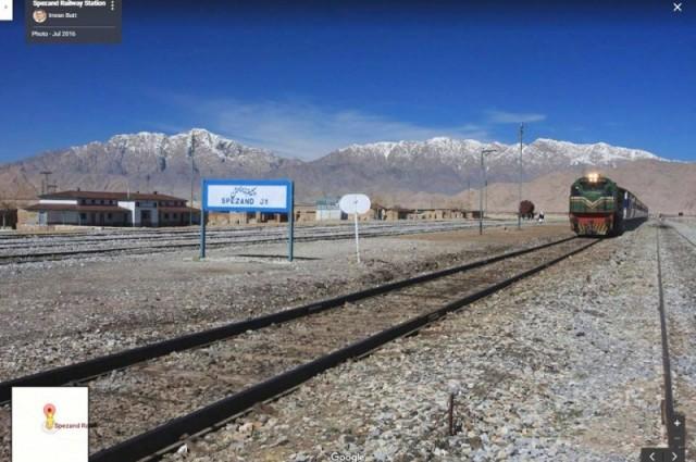 Spezand Junction Railway Station