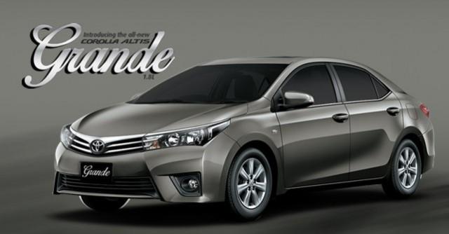Toyota Corolla Altis 1.8 Grande 2017