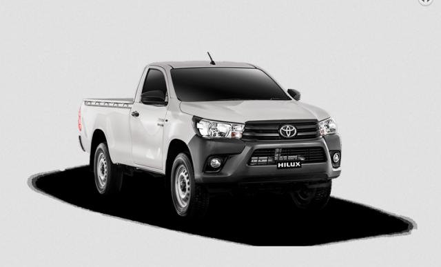 Toyota Hilux 4X2 Single Cab Deckless 2021 (Manual)