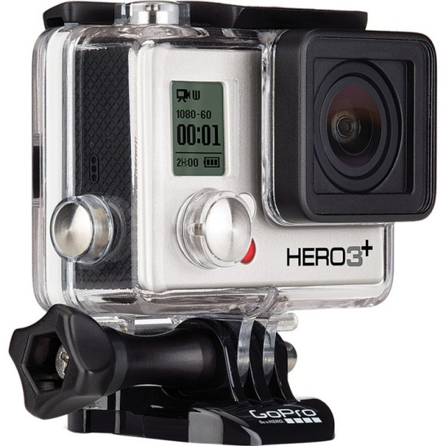 GoPro Hero3+ Silver Edition video camera