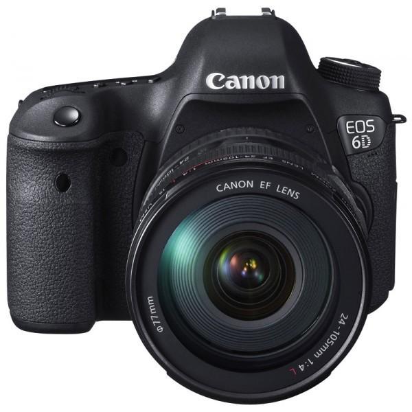 Canon EOS 6D 24-105mm Camera