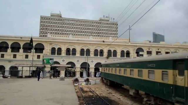 Karachi City Railway Station