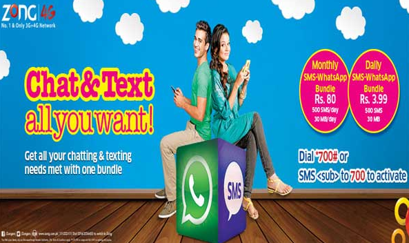 Monthly SMS + Whatsapp Bundle