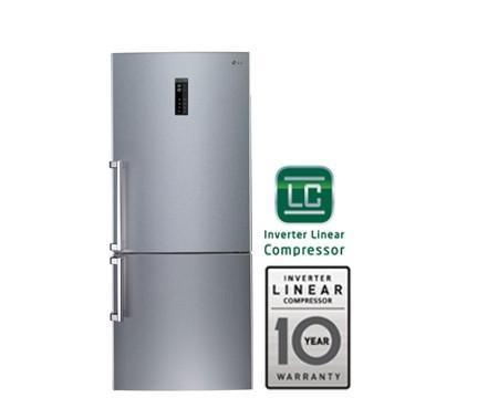 LG GR-B579PLCV Bottom Freezer Double Door