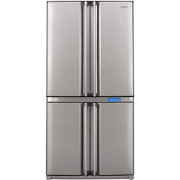Sharp SJ-F800SPSL Bottom Freezer Four Door