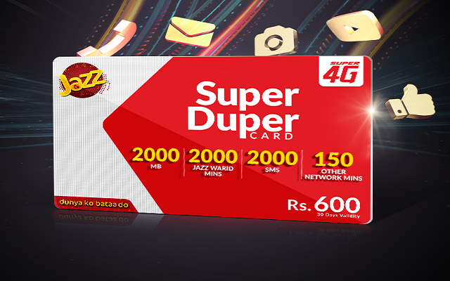 Jazz Super Duper Card