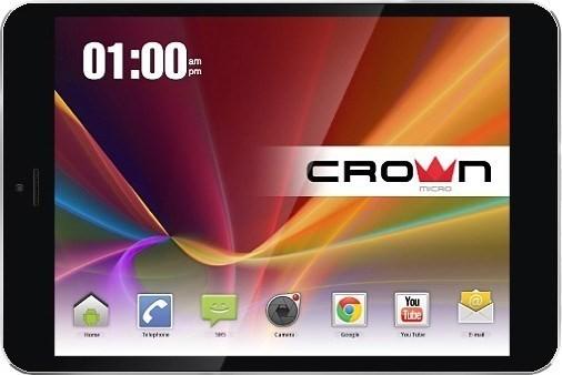 Crown Tablet PC CM-B751bk