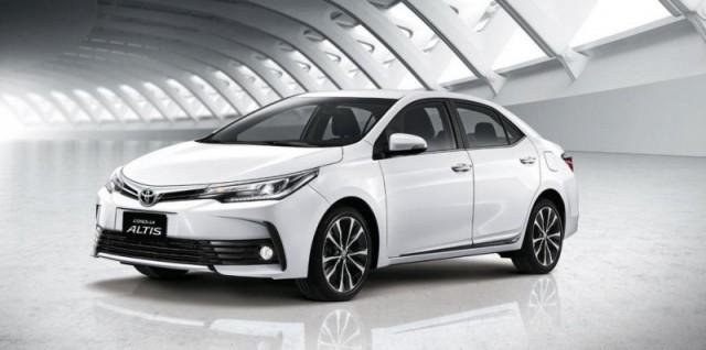Toyota Altis 1.8 MT Corolla 2018