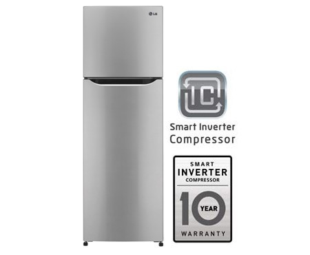 LG GR-B302SLHL Top Freezer Double Door