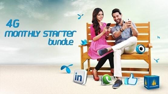 Telenor 4G Monthly Starter Package