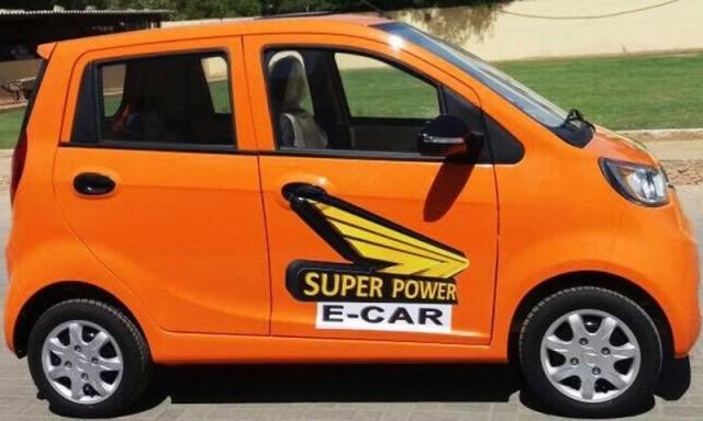 Super Power E-Car 2017