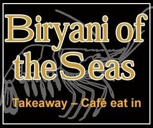 Biryani of the Seas