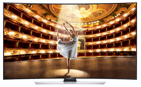 Samsung 65HU9000 65 inches Curved Tv