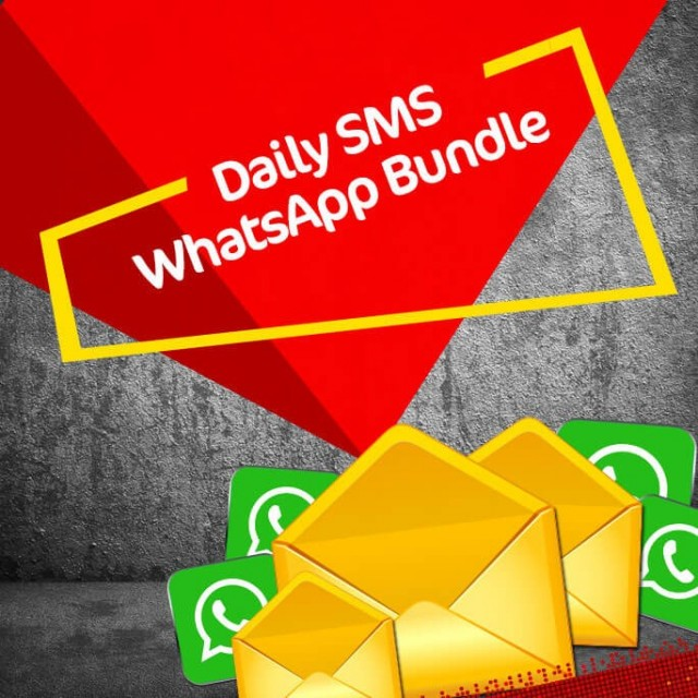 Jazz Daily SMS+WhatsApp Bundle