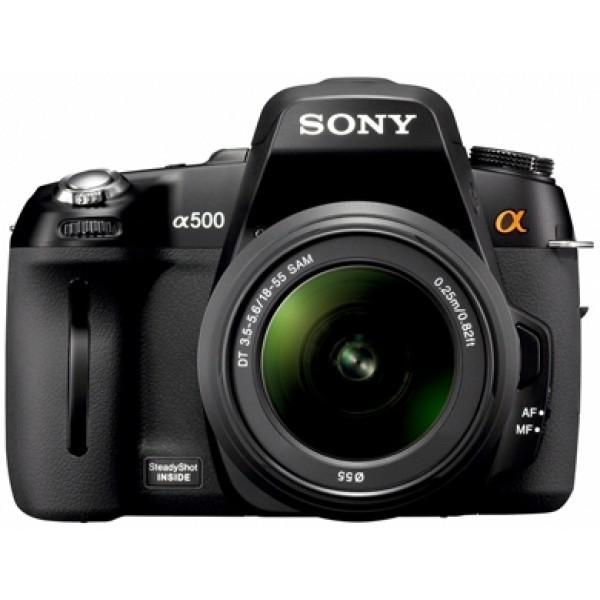 Sony DSLR-A500L 18-55mm